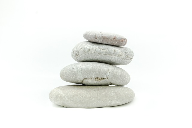 The Stones, Stone, On A White Background, Zen