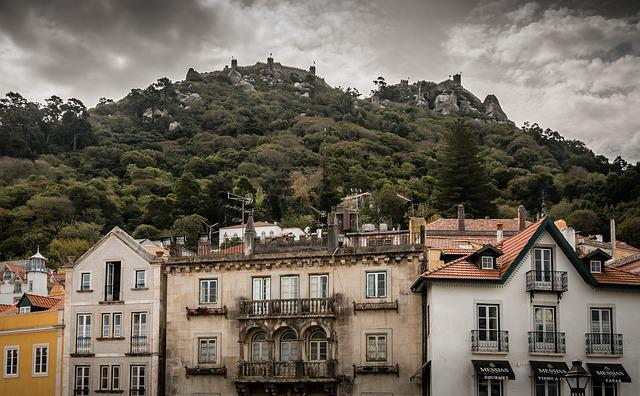 Sintra, The Strength Of The, City, Old Town, Portugal
