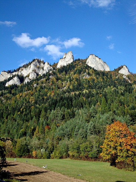 The Three Crowns, Pieniny, Poland, Landscape, Tops