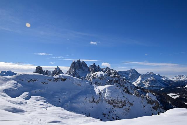 The Three Peaks Of Lavaredo, Landscape, Alpine