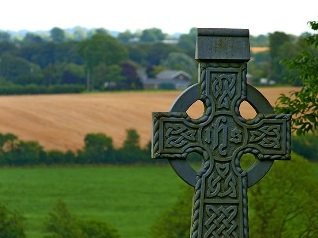 Cross, Cemetery, The Tomb Of, Religion, Ireland, Celtic
