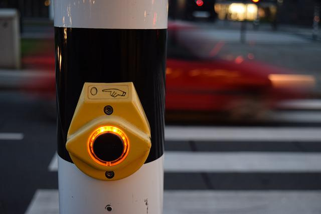 The Traffic Light, Button, Pedestrian Crossing