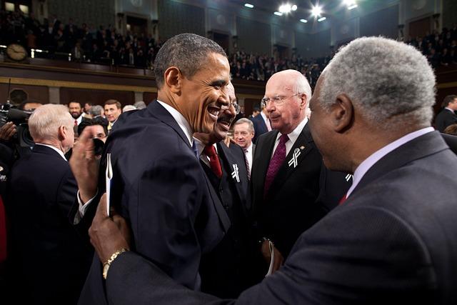The U S President, Barack Obama, Welcomes