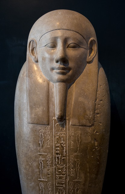 Sarcophagus, Ancient Egypt, Museum, The Vatican, Rome