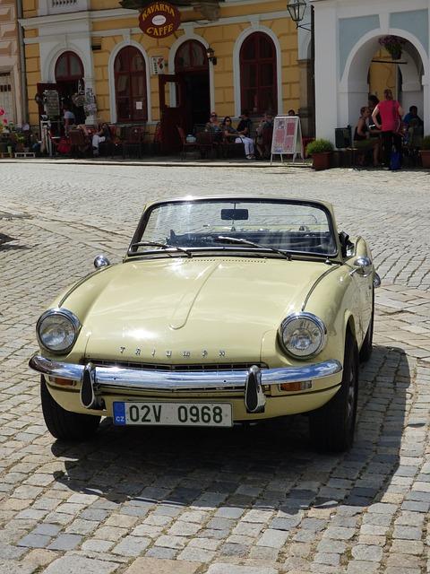 Car, Monument, Auto, Triumph, Czech, The Vehicle