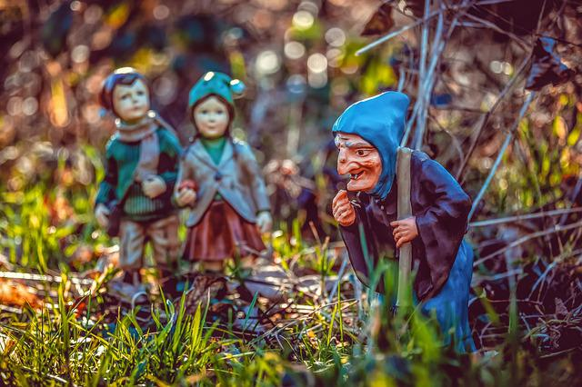 The Witch, Hänsel, Gretel, Fairytale Characters
