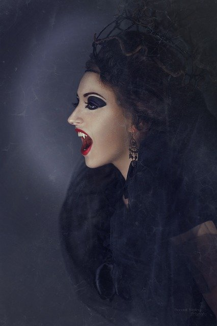 Vampire, Creepy, The Witch, Sorceress, Mystical