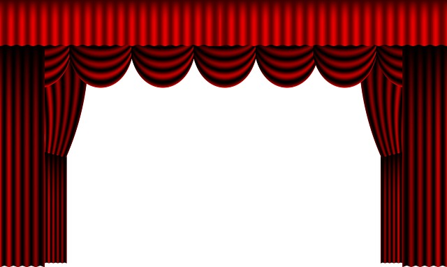 Curtain, Theatre, Theater Curtain, Stage, Drapes