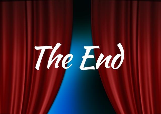 End, Guy, Cinema Strip, Movie, Theater, Film, Video