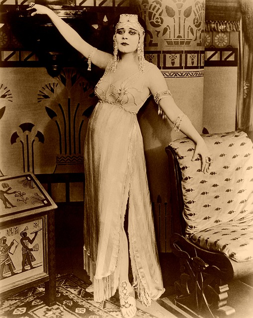 Cleopatra, Theda Bara, Silent Film, Cinema, History