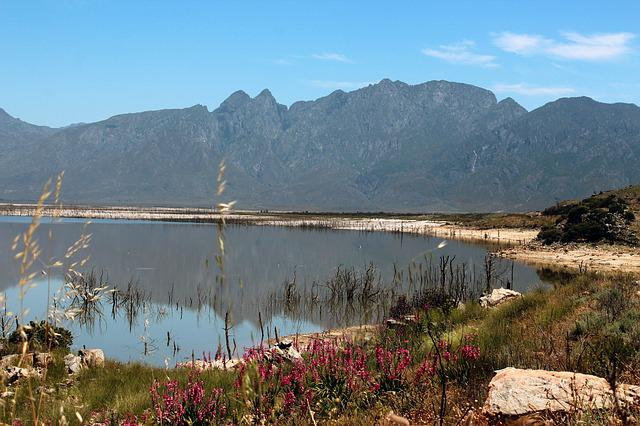 South Africa, Theewaterskloofdam, Reservoir, Holiday