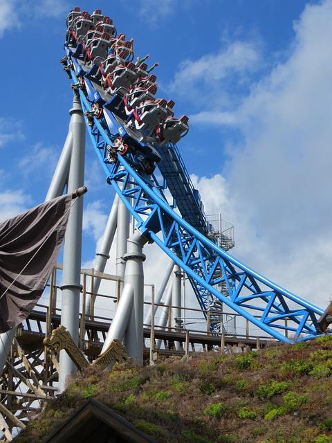 Roller Coaster, Europa Park, Theme Park, Carousel, Ride