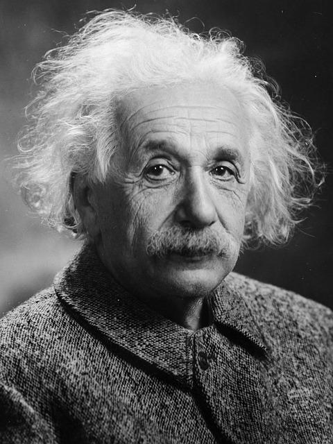 Albert Einstein, Portrait, Theoretician Physician