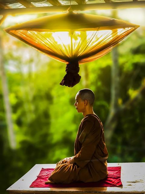 Theravada Buddhism, Monk, Meditating, Meditation