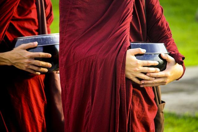 Theravada Monks, Buddhist, Religious, Buddhism