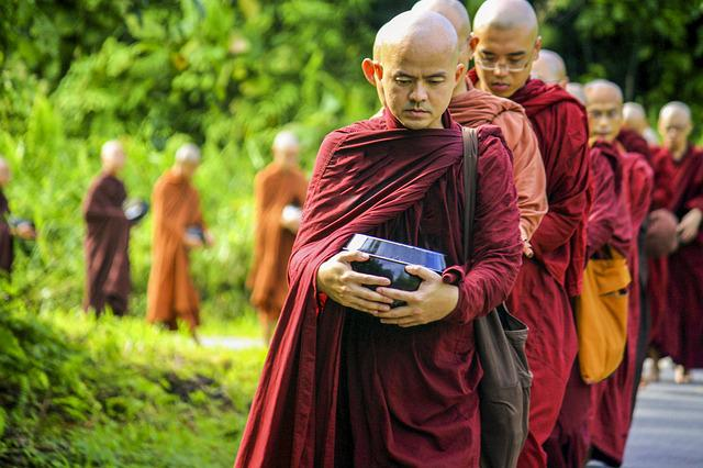 Theravada Buddhism, Theravada Monks, Saṅgha, Religion