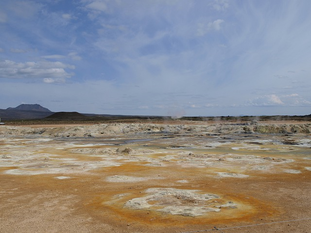 Sources Of Hot, Thermal Springs, Geothermal, Iceland