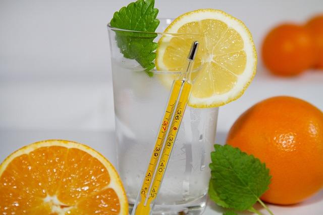 Fruit, Thermometer, Vitamin C, Flu Outbreak, Influenza