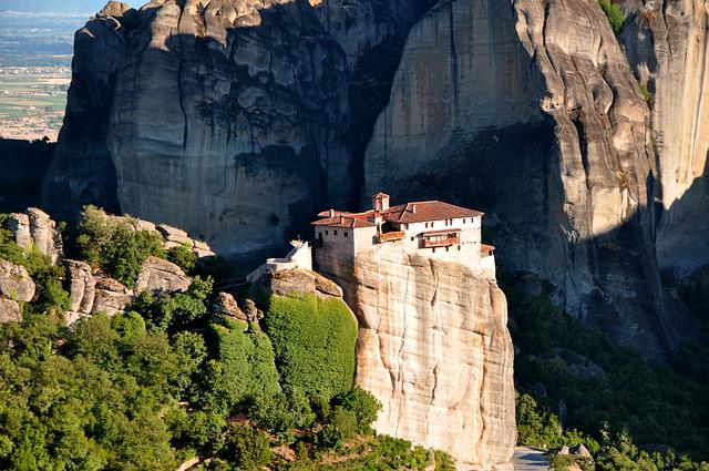 Meteora Monasteries, Monastery, Thessaly, Greece