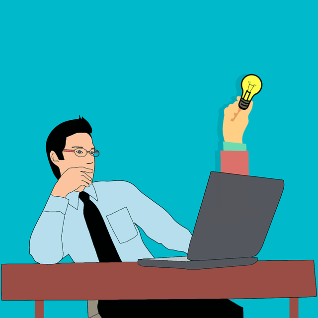 Cartoon Character, Idea, Business, Thinking, Searching