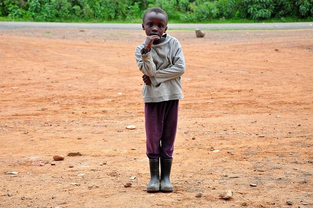 Africa, Boy, Child, Elegant, Thoughtful, Pose