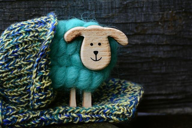 Sheep, Wool, Knit, Handmade, Thread, Hand Labor, Wood