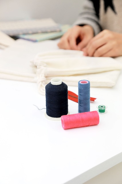 Sewing, Sewing Machine, Thread, Fabric, Hand Sewing