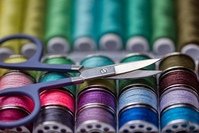 Sewing Kit, Thread, Scissors, Sewing Tools