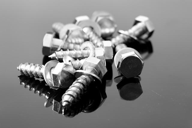 Screw, Wood Screws, Metal, Close, Iron, Thread