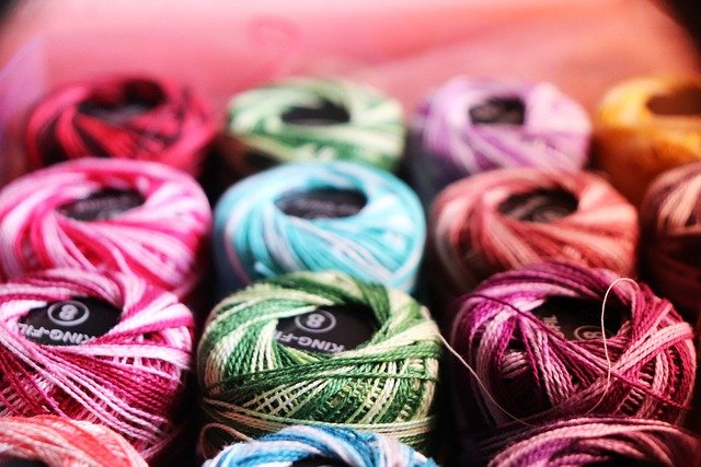 Thread, Colorful, Sewing, Yarn, Embroidery, Sew, Craft
