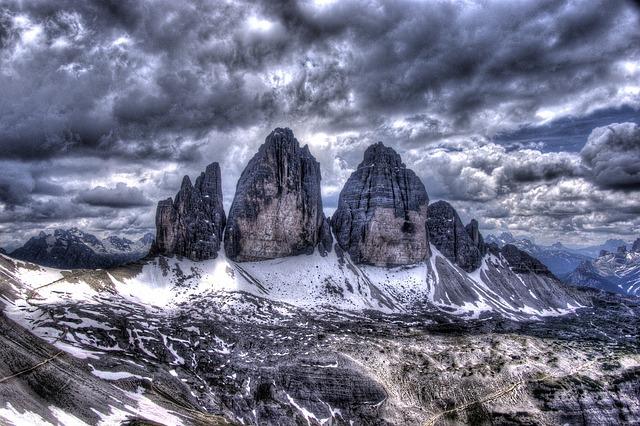 Sea, Peace, Turtle, Three Peaks, Lavaredo, Dolomites