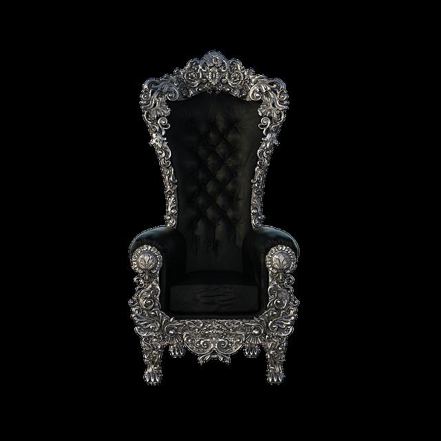 Throne, Chair, 3d, Render, Fantasy, Decor, Old, Royal