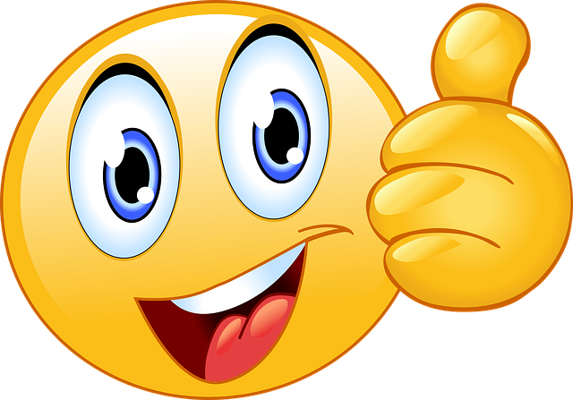 Thumbs Up, Smiley Face, Emoji, Happy, Smiley, Face