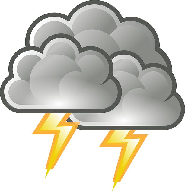Thunderstorm, Lightning, Thunder, Rain, Adverse Weather