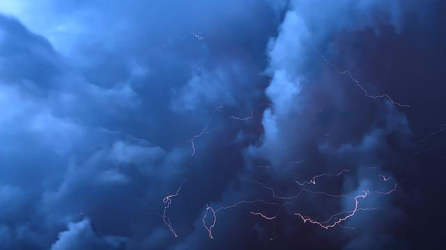 Thunderstorm, Clouds, Flashes, Thundercloud, Storm, Sky