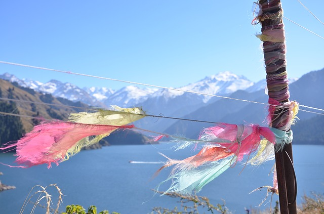 Lake, Ties, Tianchi, Artistic Conception, Picture