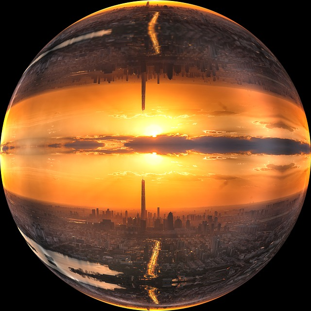 Tianjin, Afterglow, Ball Ball Soap Bubble, Round