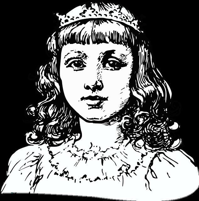Princess, Royalty, Fairy Tale, Nobility, Vintage, Tiara