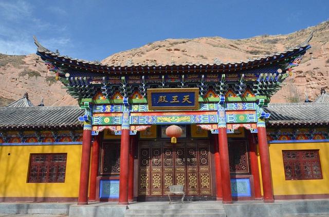 Temple, Zhangye, Tibetan Culture