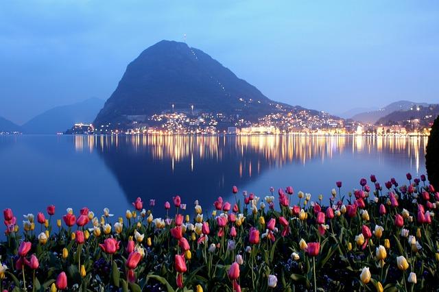 Lugano, Ticino, San Salvatore, Water, Travel, Nature