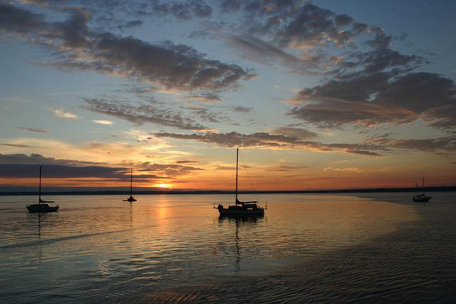 Sailboats, Boats, Ocean, Coast, Bellingham, Tide, Bay