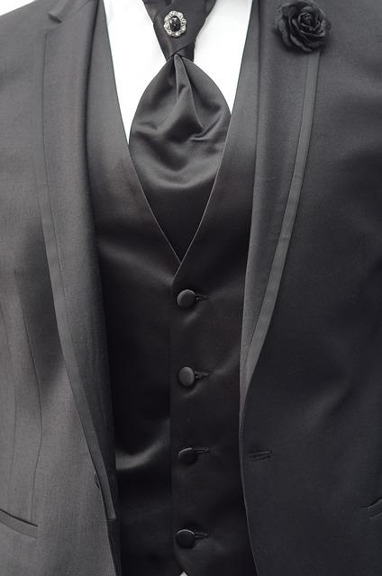 Suit, Tie, Men