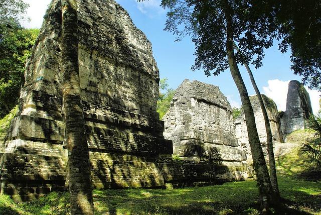 Guatemala, Tikal, Petén, Maya, Ruins, Civilization