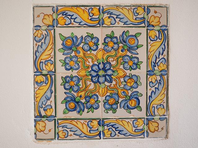 Tile Image, Fliessenbild, Tile, Board, Monastery