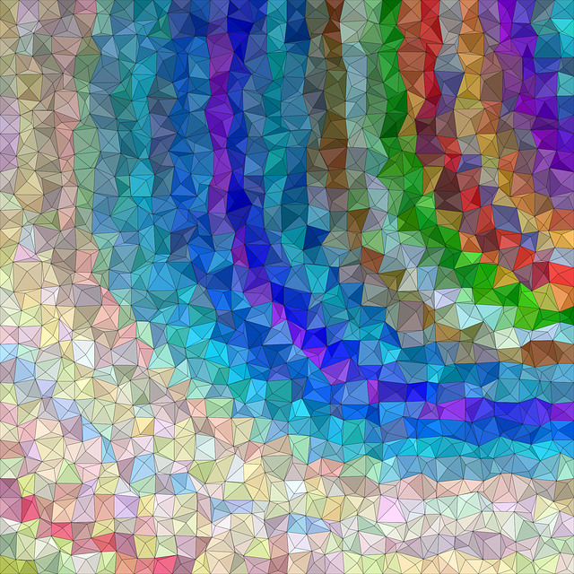 Triangle, Background, Abstract, Mosaic, Colorful, Tiles
