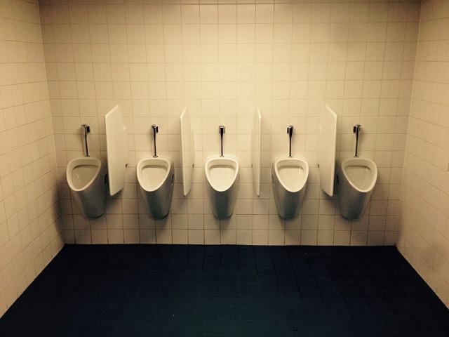 Toilet, Men, Urinal, Wc, White, Tiles, Gentlemen
