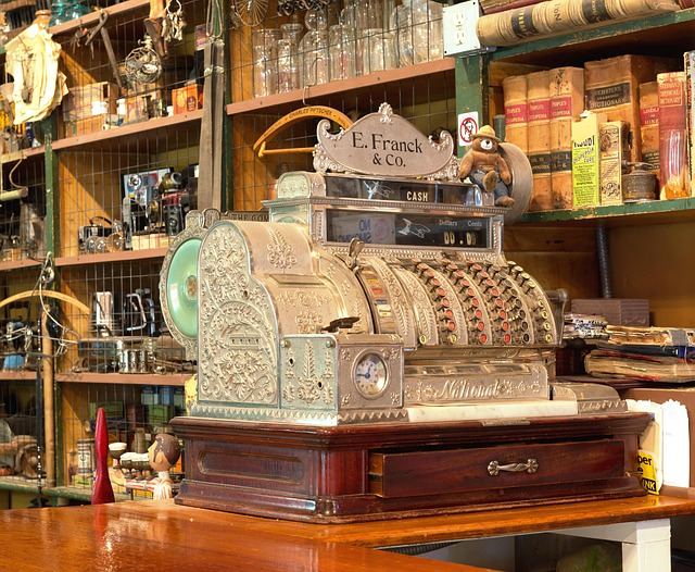 Checkout, Cash Machines, Business, Till, Cash Drawer