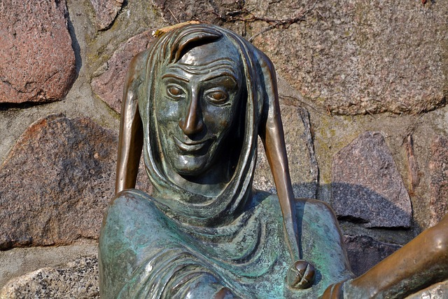 Till Eulenspiegel, Mölln, Fool, Sculpture, Schalk