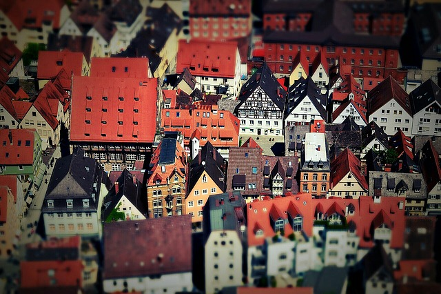 Ulm, City, Swabia, View, Tilt Shift