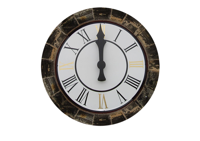 Clock, Clock Tower, Isolated, 12 O'clock, Time, Time Of